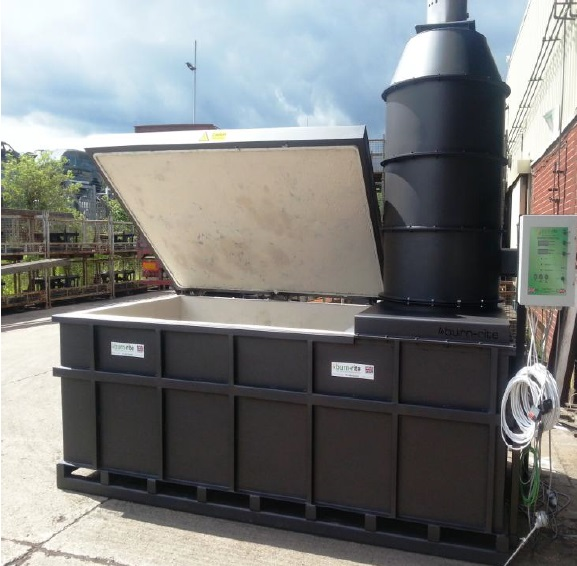 BR 1800 Medical Waste Incinerator | Burn Rite