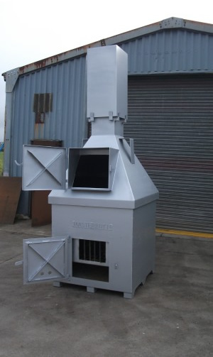 General waste incinerators burn rite ltd for Household incinerator design