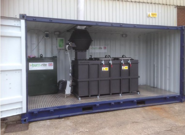 BR 1180 Containerised Incinerator | Burn Rite